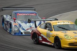 #30 Alegra Motorsports Porsche GT3 Cup: Carlos de Quesada, Scooter Gabel, #67 Krohn Racing/ TRG Pontiac Riley: Tracy Krohn, Nic Jonsson