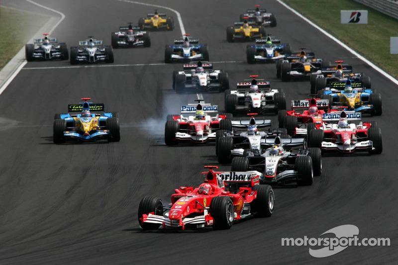 2005 Hungarian GP, Ferrari F2005