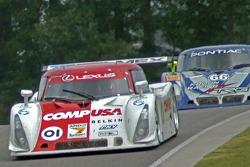 #01 CompUSA Chip Ganassi with Felix Sabates Lexus Riley: Luis Diaz, Scott Pruett, #66 Krohn Racing/ TRG Pontiac Riley: Jorg Bergmeister, Christian Fittipaldi