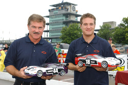 Terry Labonte and J.J. Yeley