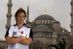 Visit, Istanbul: Jenson Button