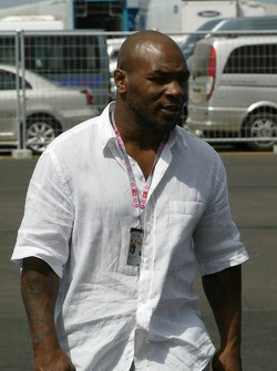 Heavyweight boxer Mike Tyson