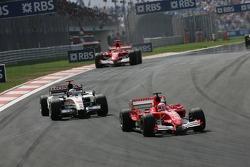 Rubens Barrichello and Jenson Button