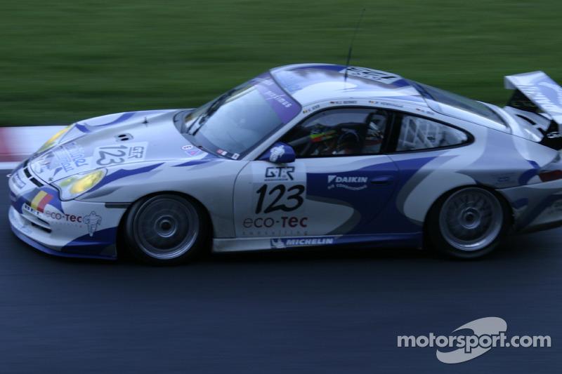 #123 Muhlner Motorsport Porsche 996 GT3 Cup: Vanina Ickx, Heinz Josef Bermes, Jean François Hemroulle, Helmut Reis
