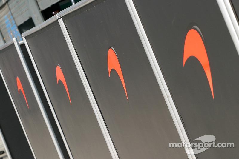 Zona del garage de McLaren