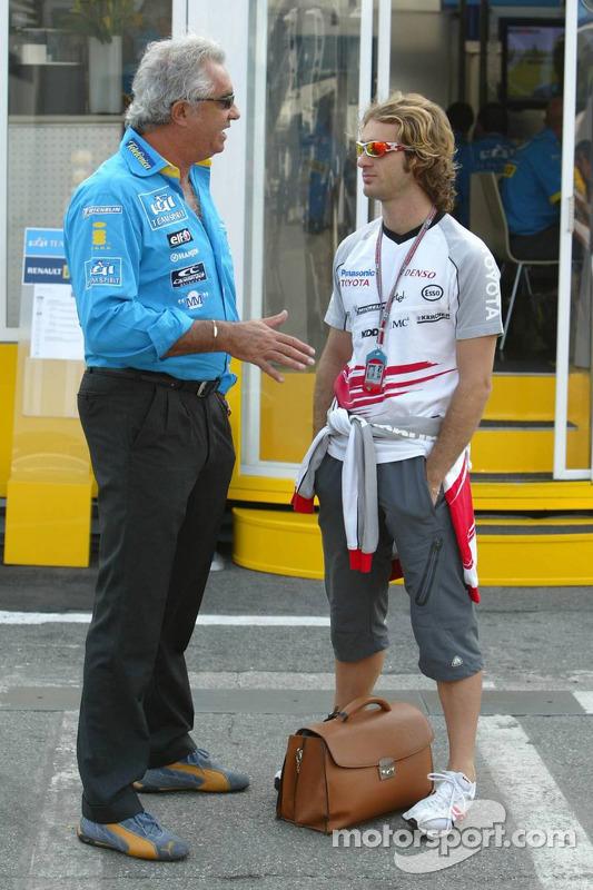 Flavio Briatore y Jarno Trulli