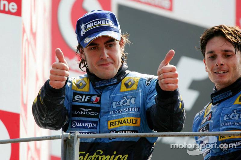 Podio: segundo lugar Fernando Alonso