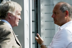 Max Mosley and Ron Dennis