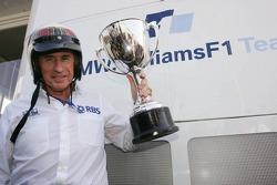 Sir Jackie Stewart celebra su primer GP ganado en Monza hace 40 años