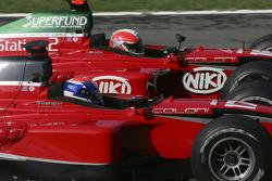 Toni Vilander and Mathias Lauda battle