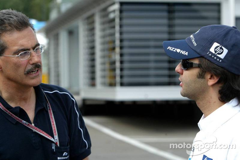 Dr Mario Theissen y Antonio Pizzonia