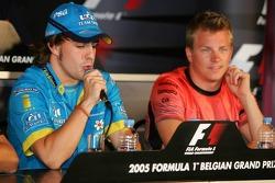 FIA press conference: Fernando Alonso and Kimi Raikkonen