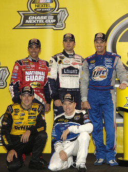 A few drivers who qualified for the 2005 Chase for the NASCAR NEXTEL Cup: Matt Kenseth, Mark Martin, Greg Biffle, Jimmie Johnson and Rusty Wallace