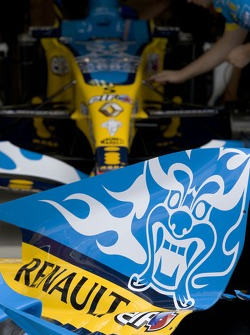 Renault F1 engine covers