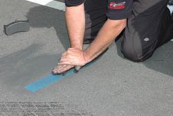 Sanding brake pad