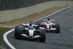 Kimi Raikkonen and Jarno Trulli