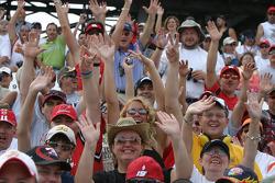 Happy fans at Talladega