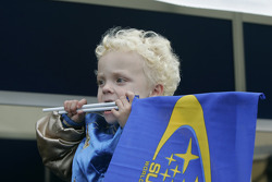 Oliver Solberg, son of Petter