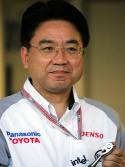 Toyota executive vice-president Yoshiaki Kinoshita