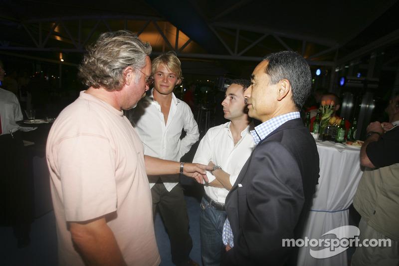 Nicolas Todt, Keke y Nico Rosberg