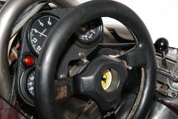 1980 Ferrari 312 T5 wheel and dash