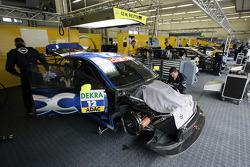 Team OPC garage area