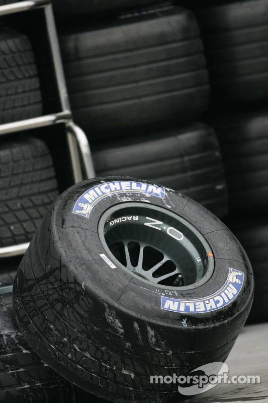 Des pneus Michelin prêts à l'emploi