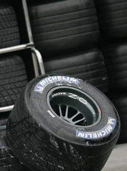 Michelin tires ready to go