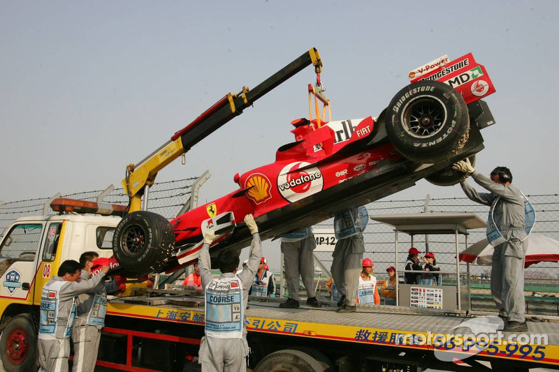 Michael Schumacher - GP de China 2005