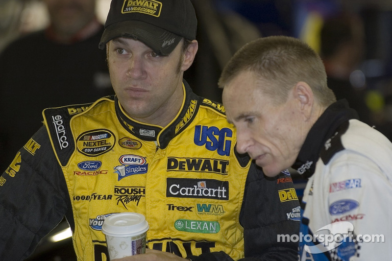Matt Kenseth y Mark Martin