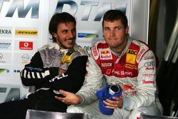 Martin Tomczyk y Laurent Aiello