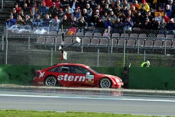 The crash of Heinz-Harald Frentzen