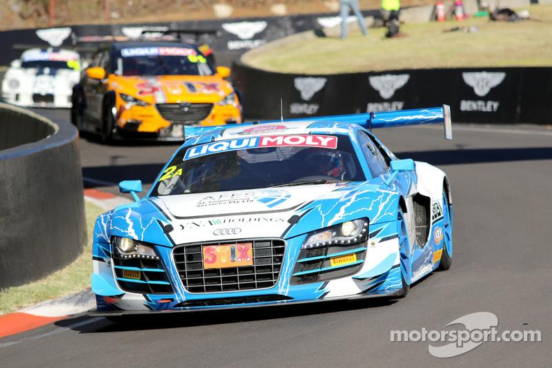 #2 Fitzgerald Racing R8 LMS ultra: Peter Fitzgerald, Michael Almond, Matt Halliday