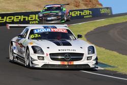 #63 Erebus Motorsport, Mercedes SLS AMG GT3: Nathan Morcom, Austin Cindric, Simon Hodge