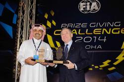 Nasser bin Khalifa al-Attiyah y Jean Todt