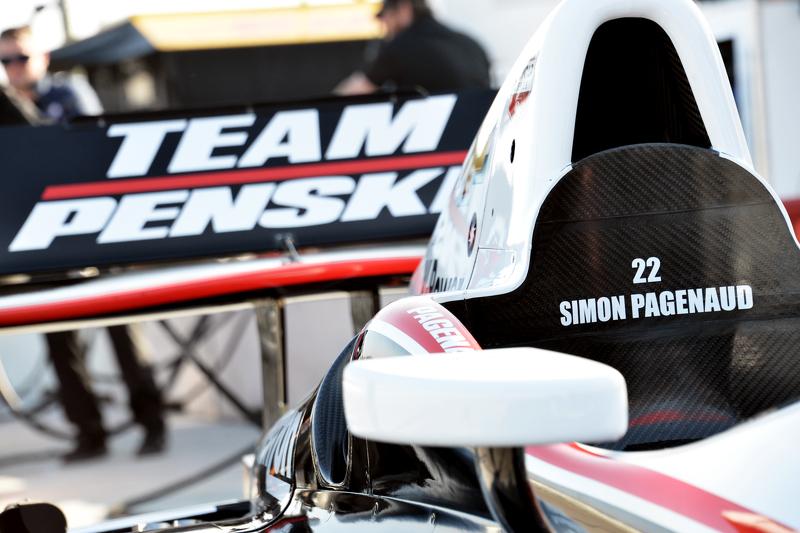 Das Auto von Simon Pagenaud, Team Penske, Chevrolet