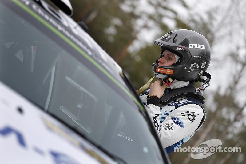 Отт Танак, M-Sport Ford Fiesta WRC