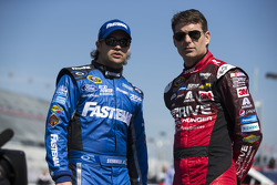 Jeff Gordon, Hendrick Motorsports, Chevrolet, und Ricky Stenhouse jr., Roush Fenway Racing, Ford