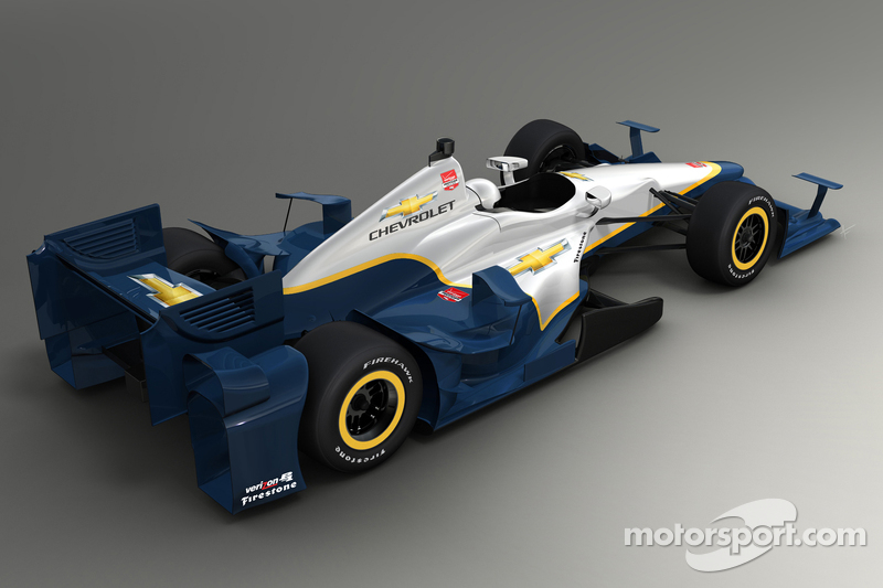 Rendering of the 2015 Chevrolet aero kit