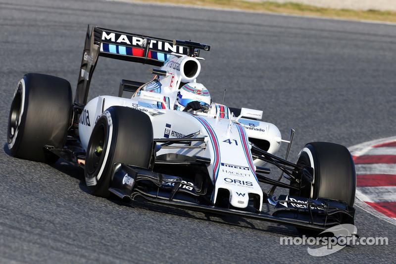 Susie Wolff, Williams FW37, Entwicklungsfahrerin