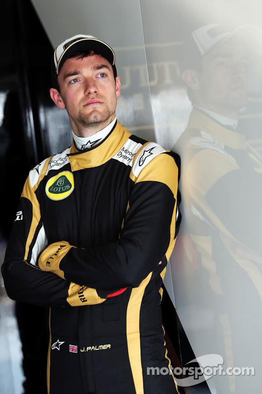 Jolyon Palmer, Lotus F1 Team, Test- und Ersatzfahrer