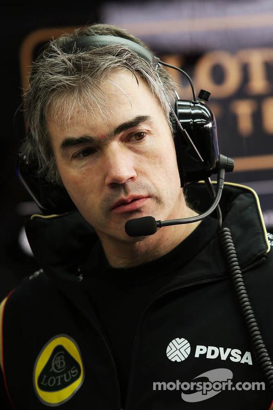 نيك شيستر، المدير الفني لفريق لوتس للفورمولا 1