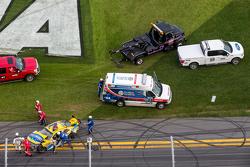 حادث ضخم لريغان سيمث