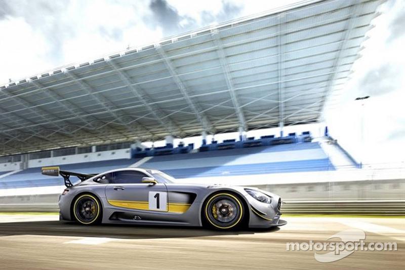Der neue 2016 Mercedes-AMG GT3, Vorschau