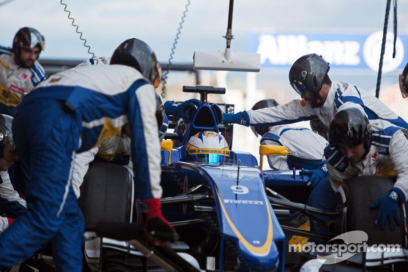ماركوس اريكسون، ساوبر سي34 يتدرب على التوقف