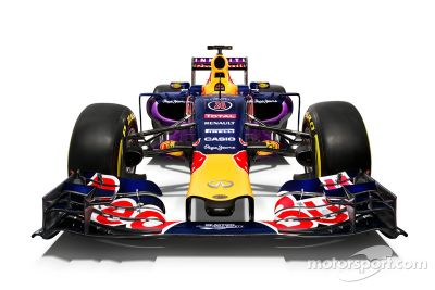 Red Bull unveils 2015 livery