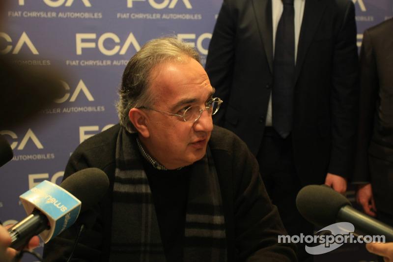 Sergio Marchionne, Ferrari-Präsident und Geschäftsführer von Fiat Chrysler Automobiles