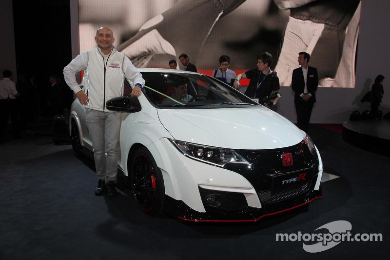 Gabriele Tarquini et le Team Honda Civic Type R