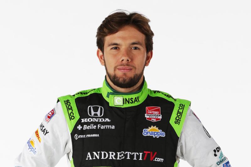 #29: Carlos Munoz, Andretti Autosport, Honda