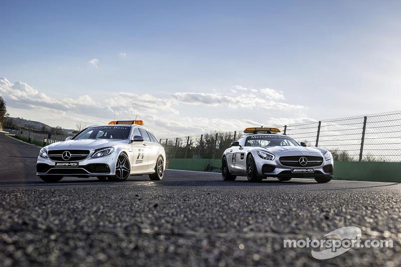 Mercedes-AMG GT S Safety-Car und C 63 S Medical-Car